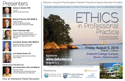 ETHICS Conference 2016